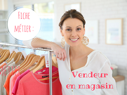 Devenir vendeur en magasin