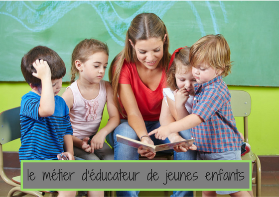 D couvrez le m tier d 39 ducateur de jeunes enfants for Educateur de jeunes enfants